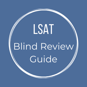 LSAT Blind Review Guide