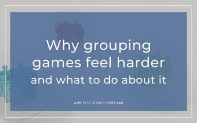 Why grouping games feel harder and what to do about it